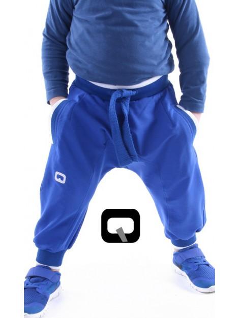 sarouel jogging enfant bleu roy qaba'il
