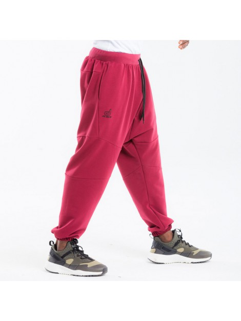 Saroual jogging dc jeans bordeaux long