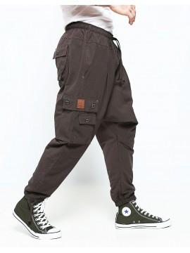 Saroual battle dc jeans marron