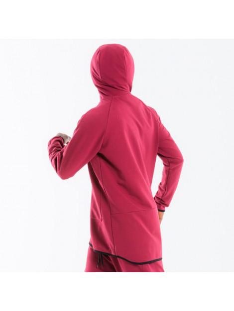 Sweat jogging dc jeans bordeau