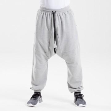 Saroual jogging dc jeans gris chiné