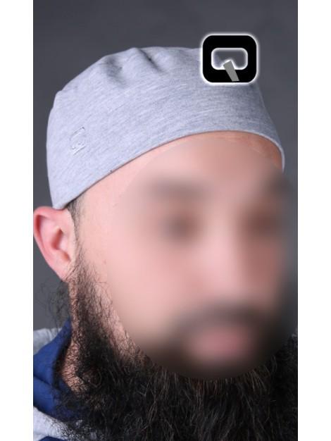 chachia qaba'il grise clair
