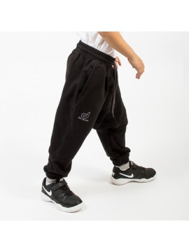 Saroual jogging dc jeans enfant noir