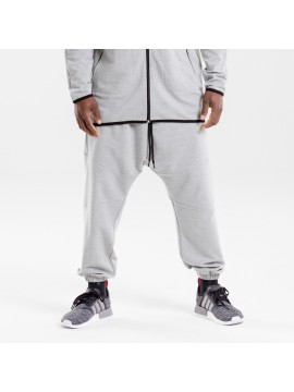saroual jogging dc jeans usual fit gris chiné