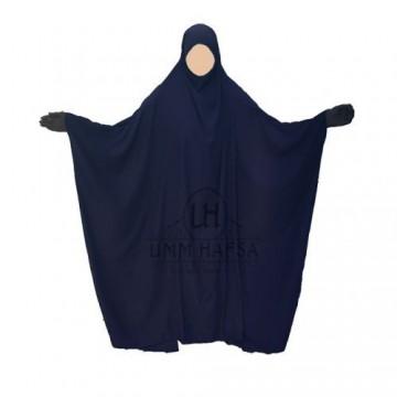 Jilbeb umm hafsa saoudien classique bleu