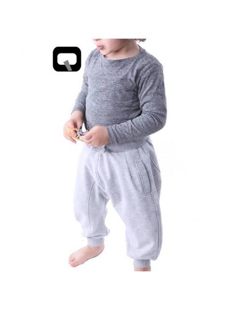 Sarouel jogging enfant noir qaba'il